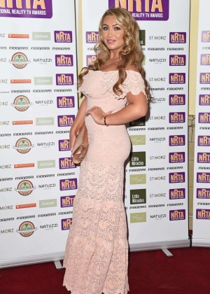 Lauren Goodger at 2014 National Reality TV Awards in London