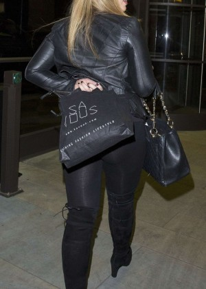 Lauren Goodger in Leggings -03