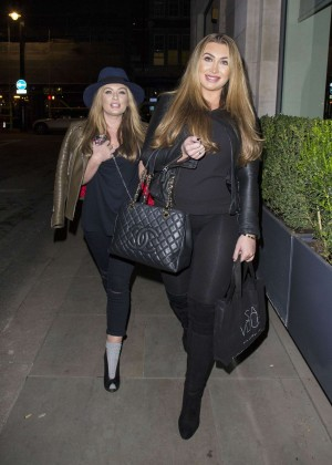 Lauren Goodger in Leggings -14