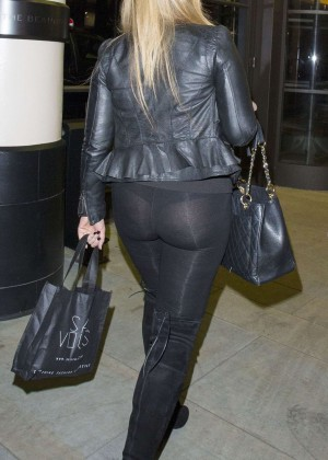 Lauren Goodger in Leggings -15