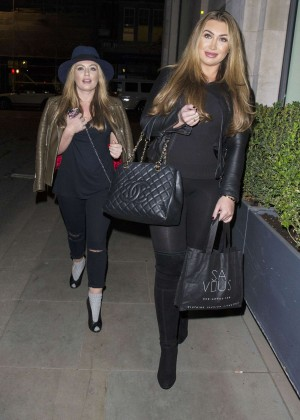Lauren Goodger in Leggings -16