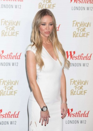 Lauren Pope - Fashion For Relief Pop Up Launch Party in London