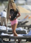 Lauren Stoner - Bikini Candids in Miami -21