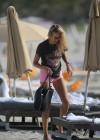 Lauren Stoner - Bikini Candids in Miami -39