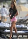 Lauren Stoner - Bikini Candids in Miami -48