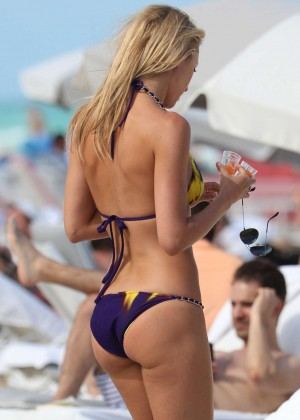 Lauren Stoner Bikini Photos: 2014 in Miami -04