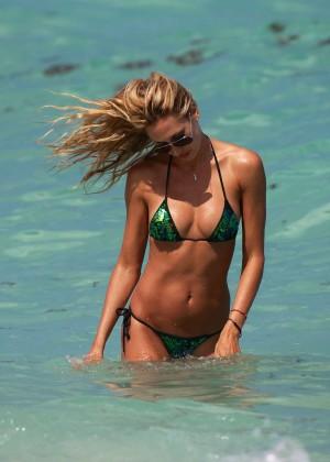 Lauren Stoner in Bikini in Miami -01