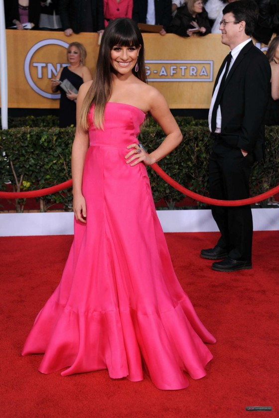 Lea Michele – 19th Annual Screen Actors Guild Awards 2013-05