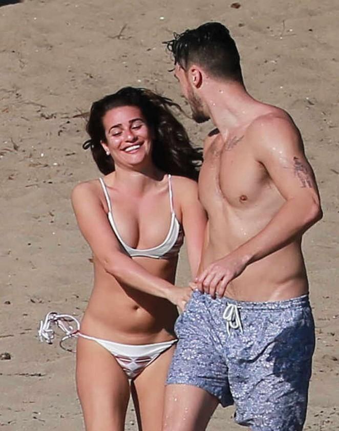 Lea Michele 2014 : Lea Michele in Bikini -12
