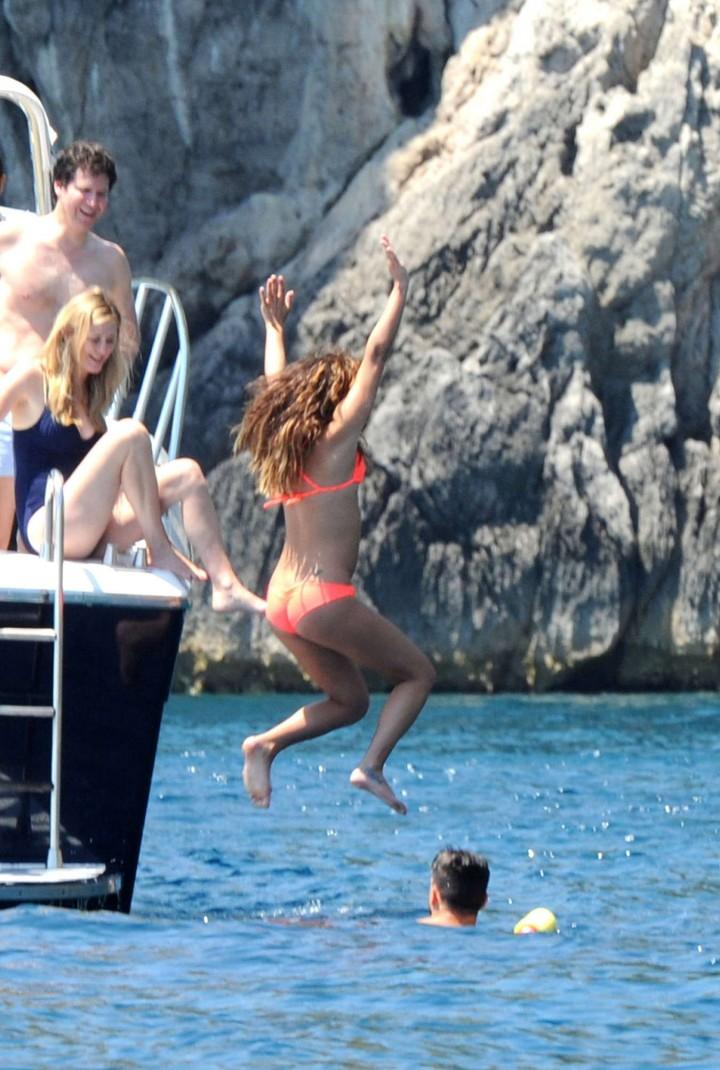 Lea Michele bikini: in Italy -06