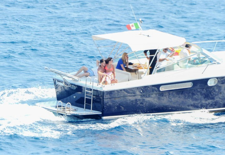 Lea Michele bikini: in Italy -08