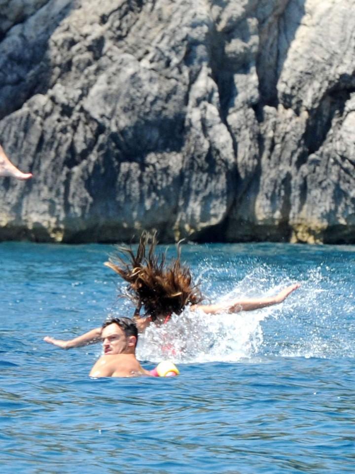 Lea Michele bikini: in Italy -10
