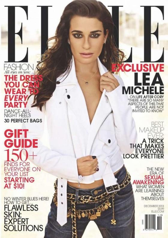 Lea Michele: Elle Magazine -01