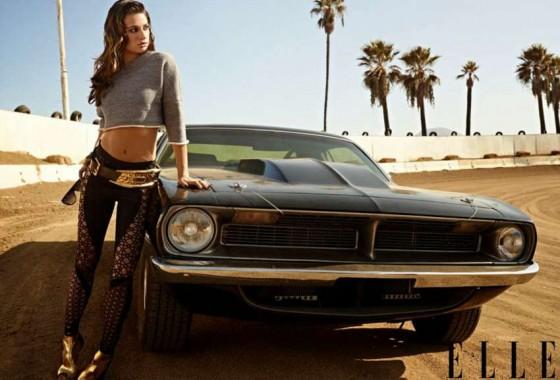 Lea Michele: Elle Magazine -04