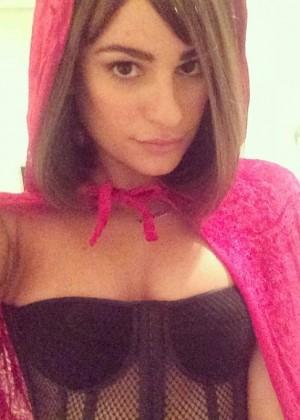 Lea Michele Happy Halloween - Twitpic