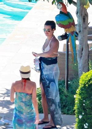 Lea Michele Bikini Photos: in Santa Barbara  -12