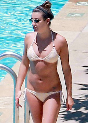 Lea Michele Bikini Photos: in Santa Barbara  -19