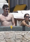 Lea Michele - In a bikini on the Beach in Cabo San Lucas-05
