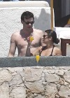 Lea Michele - In a bikini on the Beach in Cabo San Lucas-09