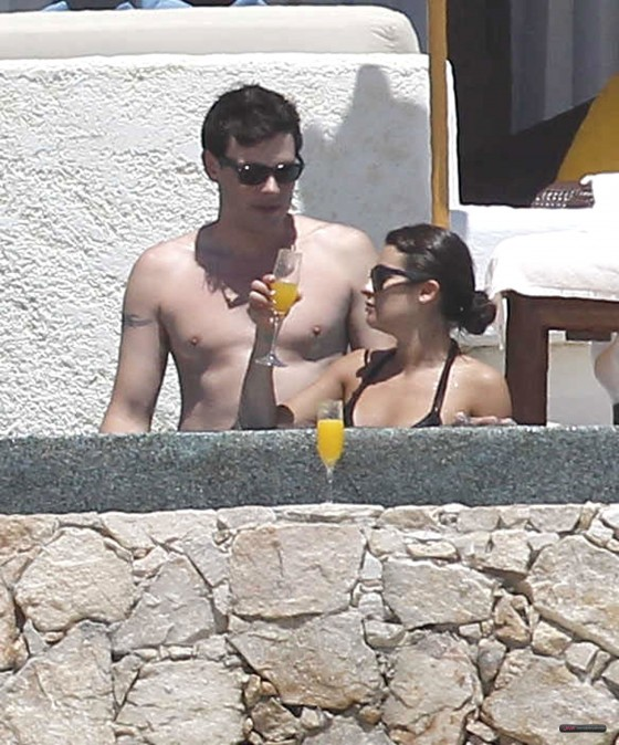 Lea Michele – In a bikini on the Beach in Cabo San Lucas-09