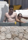 Lea Michele - In a bikini on the Beach in Cabo San Lucas-18