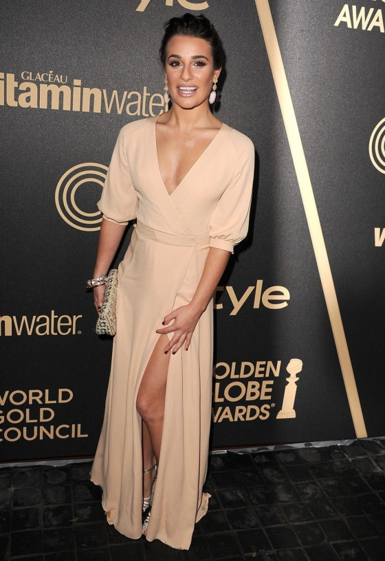 Lea Michele - InStyle Miss Golden Globe Party in LA