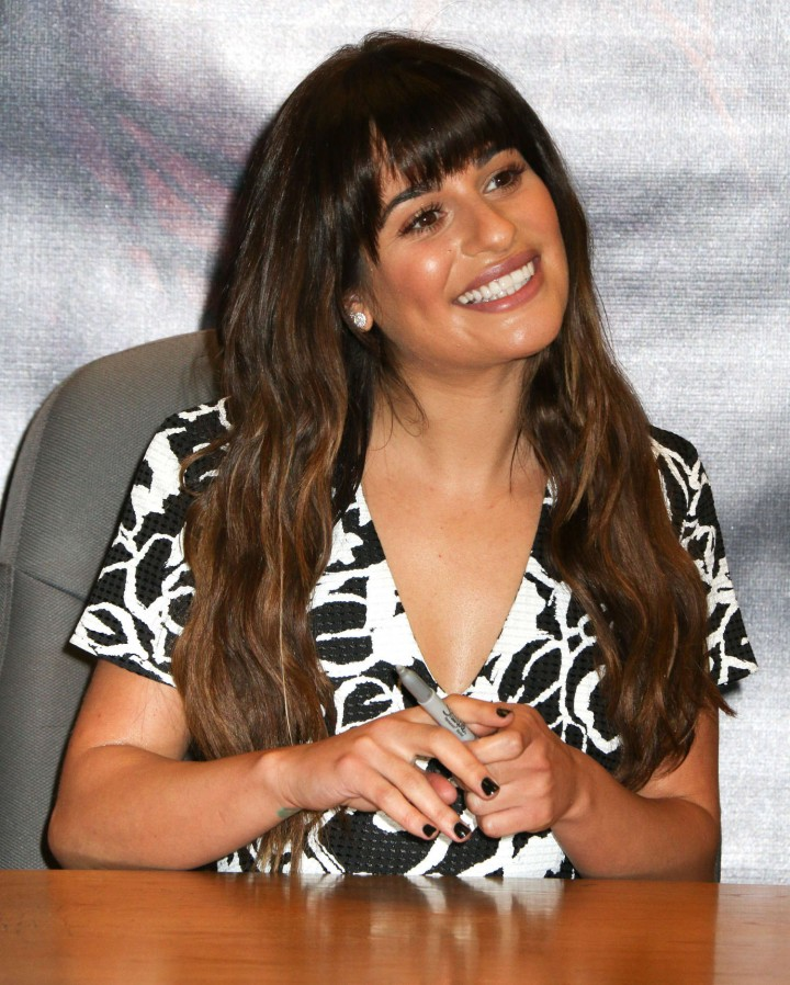 Lea Michele: Louder CD Signing -01