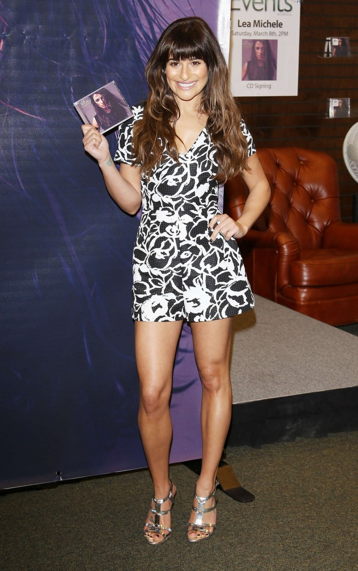 Lea Michele: Louder CD Signing -04