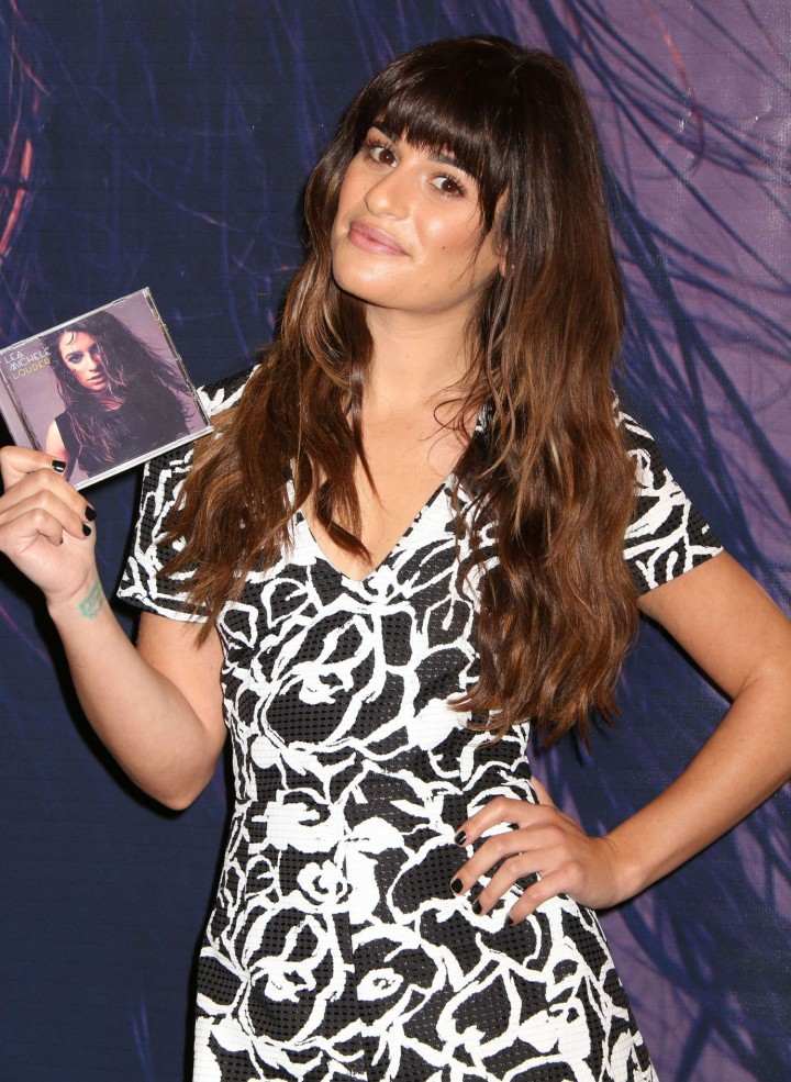 Lea Michele: Louder CD Signing -08