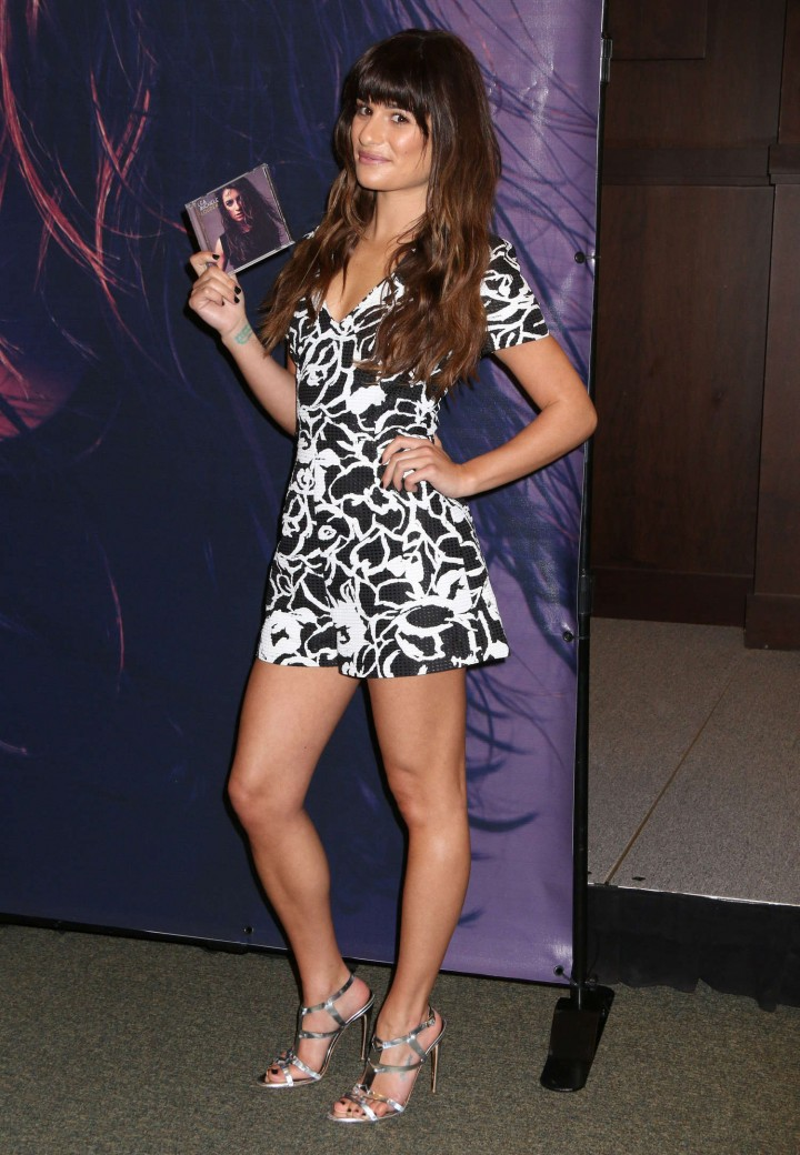 Lea Michele: Louder CD Signing -13