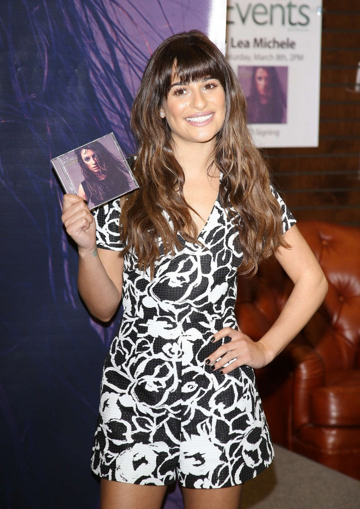 Lea Michele: Louder CD Signing -14
