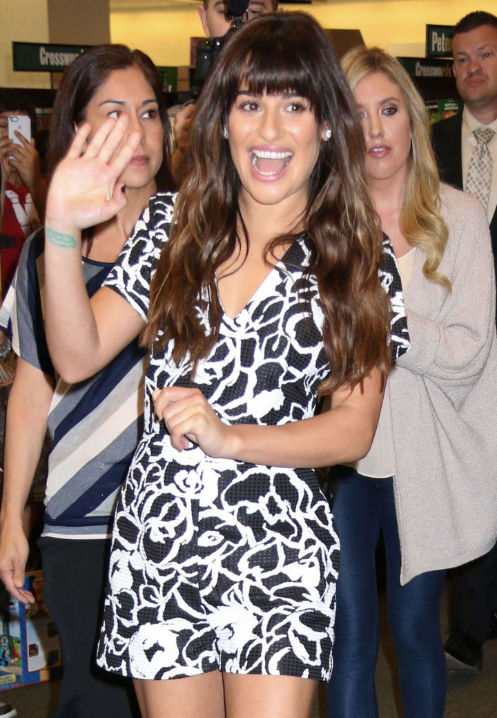Lea Michele: Louder CD Signing -20