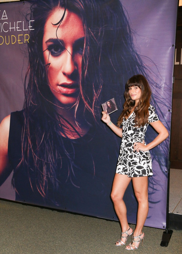 Lea Michele: Louder CD Signing -21