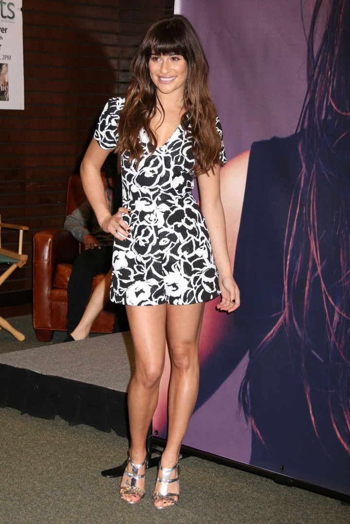 Lea Michele: Louder CD Signing -26