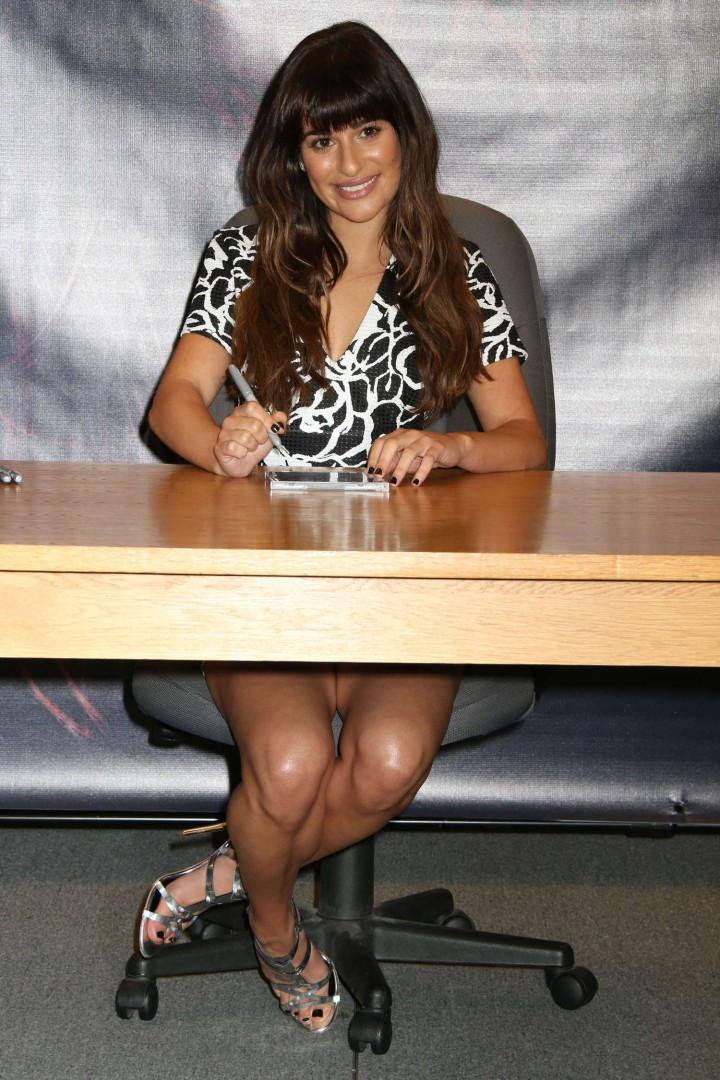 Lea Michele: Louder CD Signing -27