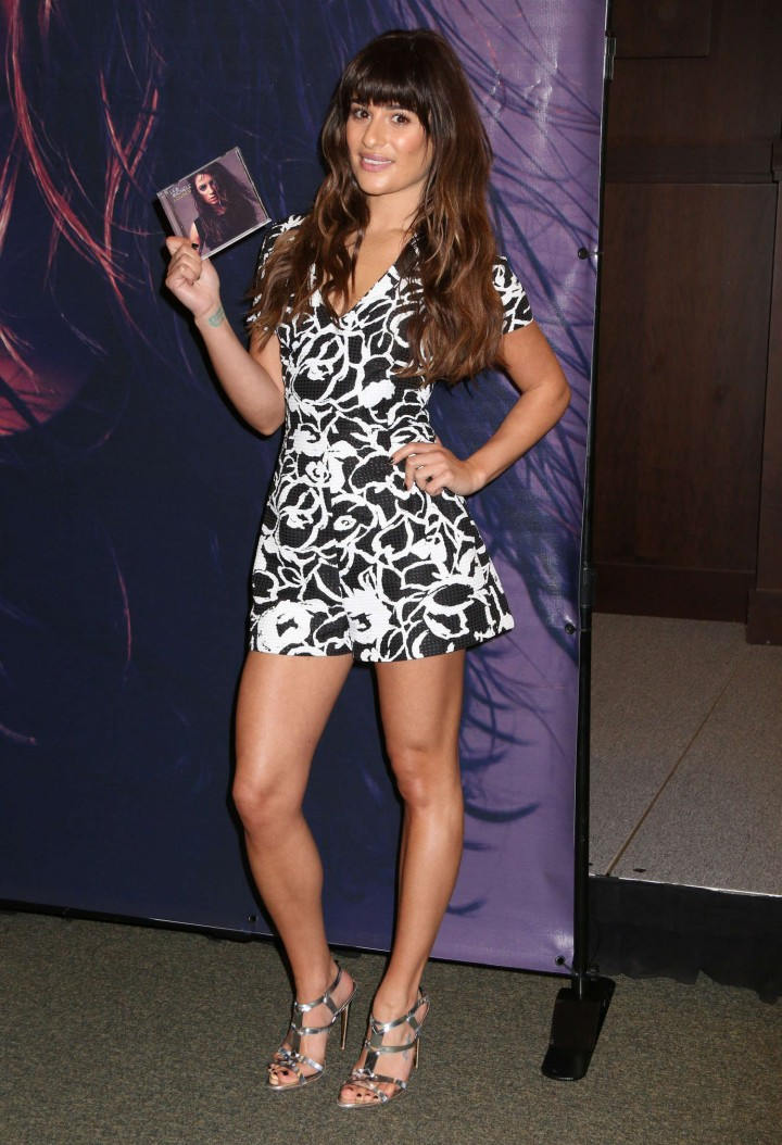 Lea Michele: Louder CD Signing -36