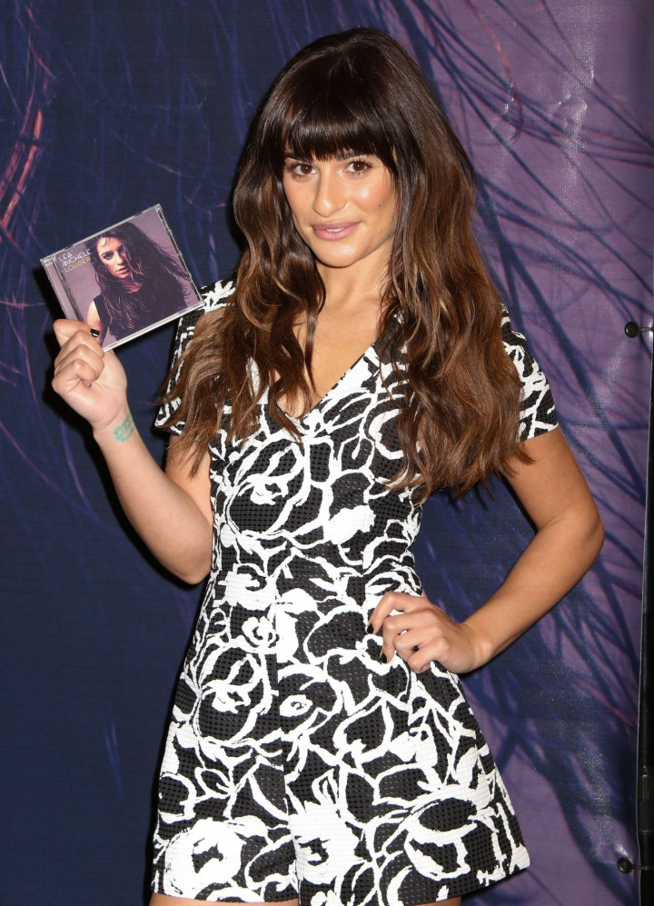 Lea Michele: Louder CD Signing -39