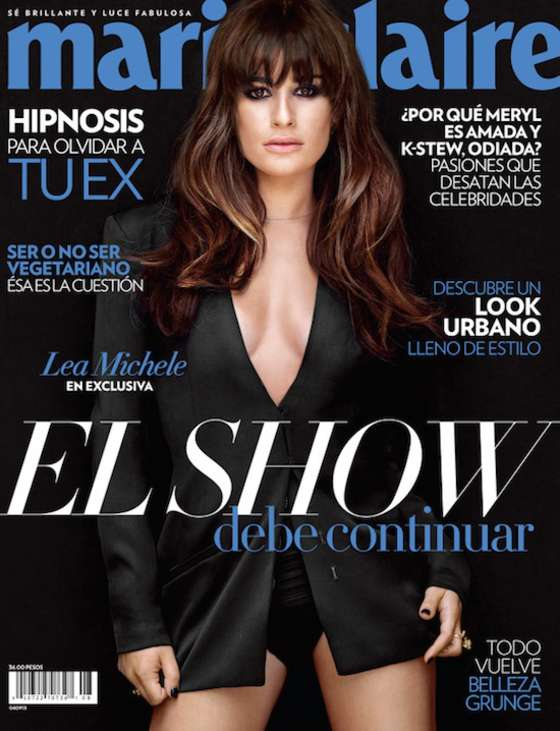 Lea Michele - Marie Claire Cover 2013 -01