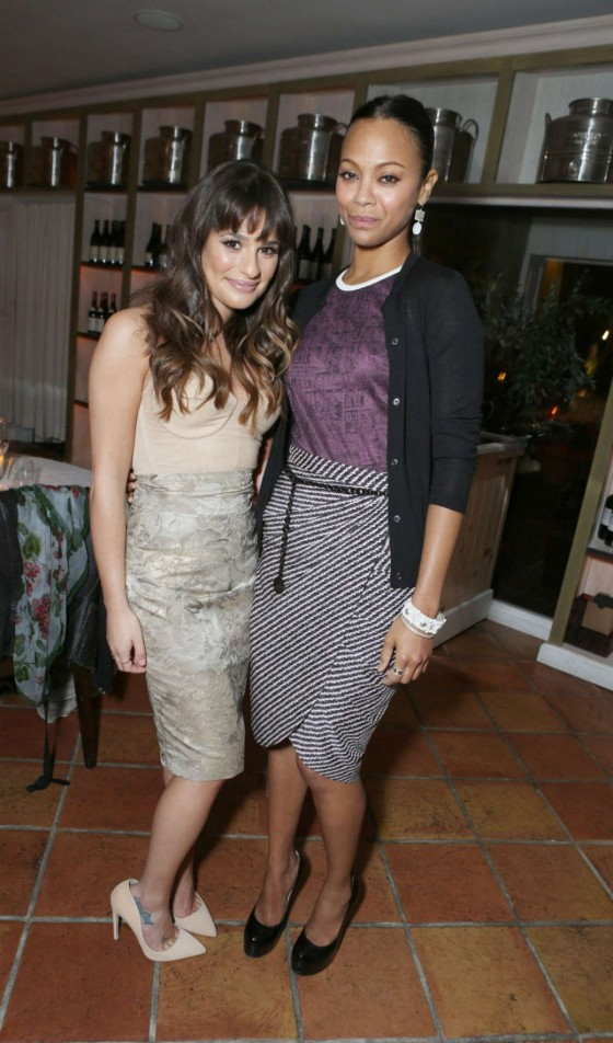 Lea Michele at Marie Claire's Hollywood Dinner
