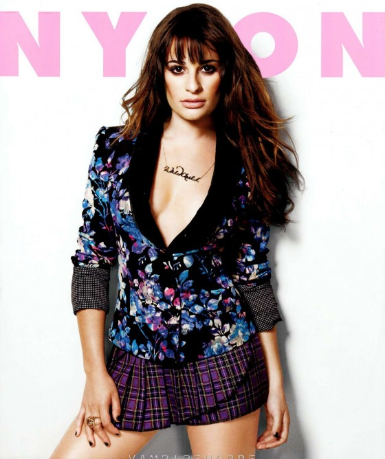Lea Michele - Nylon Magazine (September 2012 issue)