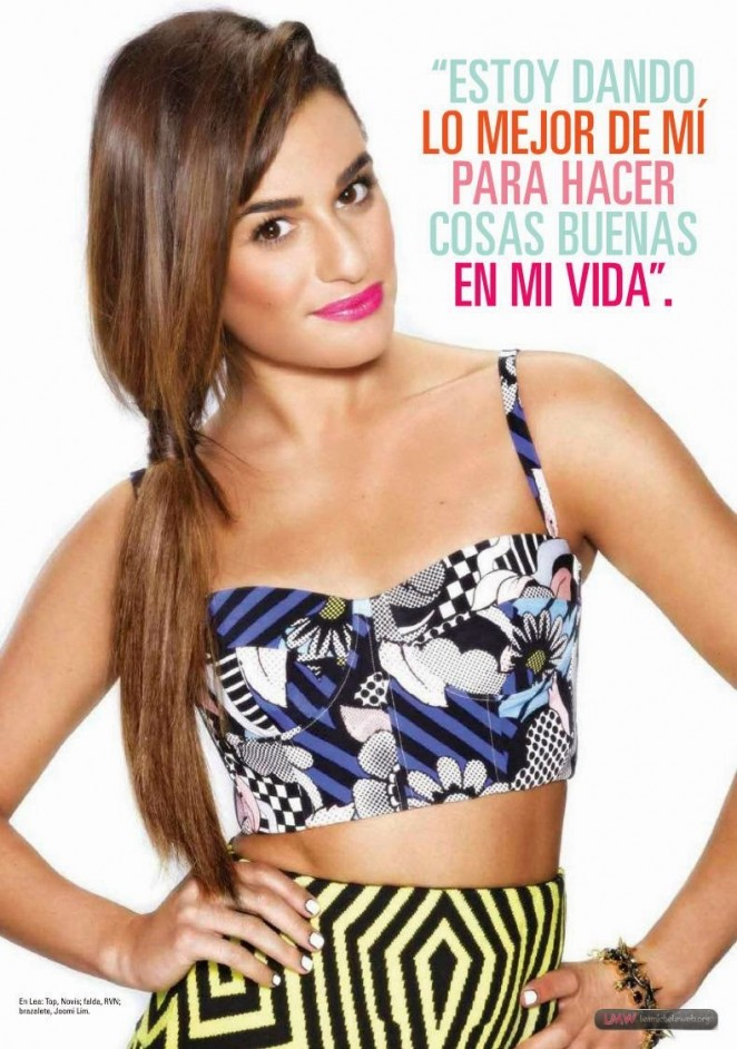 Lea Michele - Seventeen Magazine (Mexico August 2014)