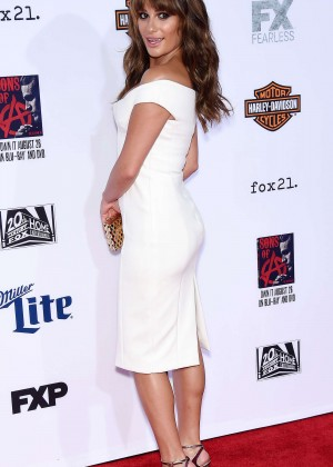 Lea Michele: Sons of Anarchy Los Angeles Premiere -09
