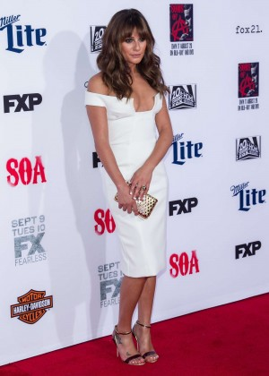 Lea Michele: Sons of Anarchy Los Angeles Premiere -12