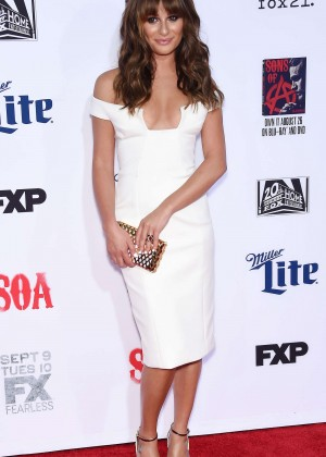 Lea Michele: Sons of Anarchy Los Angeles Premiere -14