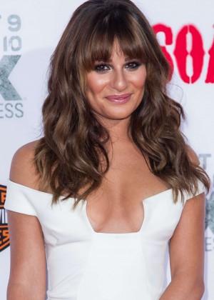 Lea Michele: Sons of Anarchy Los Angeles Premiere -17