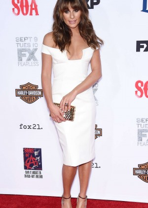 Lea Michele: Sons of Anarchy Los Angeles Premiere -20