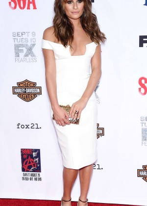 Lea Michele: Sons of Anarchy Los Angeles Premiere -24