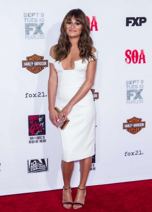 Lea Michele: Sons of Anarchy Los Angeles Premiere -31