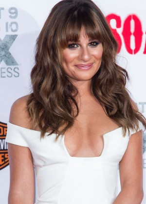 Lea Michele: Sons of Anarchy Los Angeles Premiere -32
