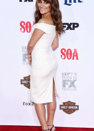 Lea Michele: Sons of Anarchy Los Angeles Premiere -33